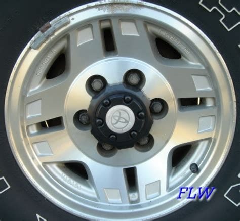 1995 Toyota 4runner Tire Size 1995 Toyota 4runner Oem Factory Wheels And Rims