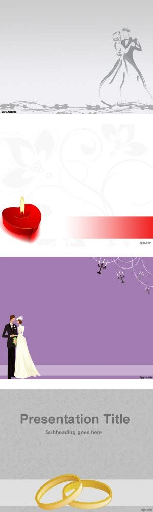 Quot Free Download Wedding Powerpoint Templates Quot By Fppt Fppt Powerpoint Templates