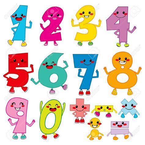 imagenes vectores infantiles numeros infantiles im 225 genes de archivo vectores numeros