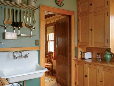 restoring an old kitchen in a 1925 home lance fraser original birch kitchen cabinets in a 1925 bungalow