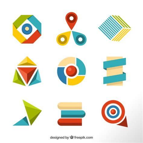 figuras geometricas vector selecci 243 n colorida de figuras geom 233 tricas descargar