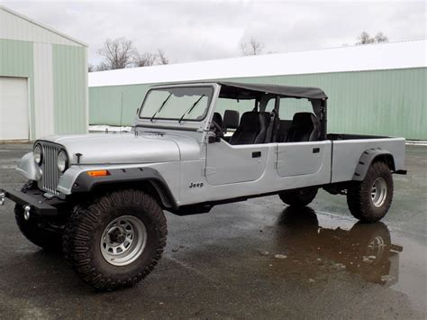 Jeep Cab 1984 Jeep Cj Crew Cab Bed V8 For Sale