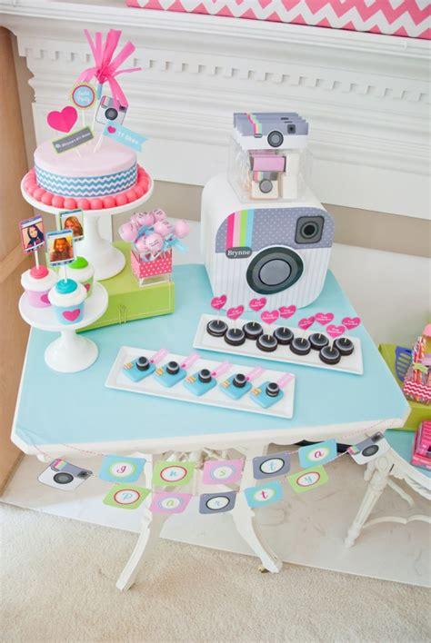 como decorar o instagram festa pr 233 adolescente tema instagram corujices
