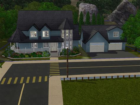 sims 3 5 bedroom house stories 2