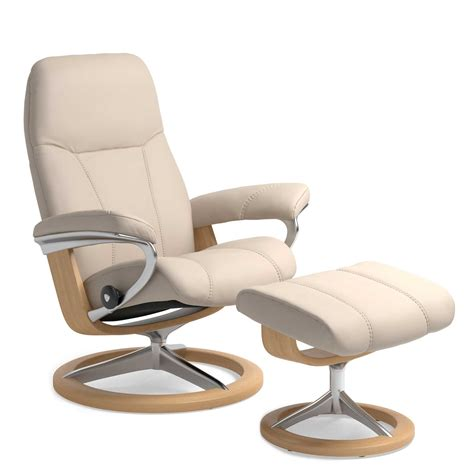 recliner chair bed offers stressless consul large chair and stool with signature