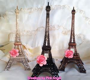 eiffel tower baby shower decorations 10 metal eiffel tower cake topper by