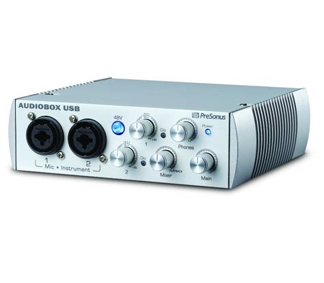 Audiobox Usb presonus audiobox usb white limited image 591542 audiofanzine