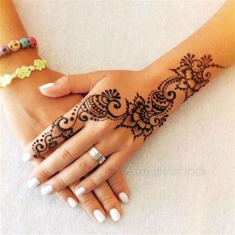 henna hand tattoo tutorial henna designs tattoos beautiful