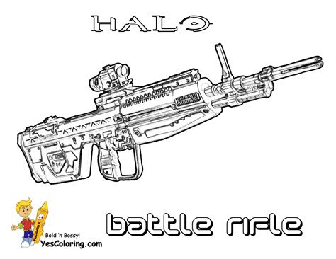 halo guns coloring pages free coloring pages of halo weapon