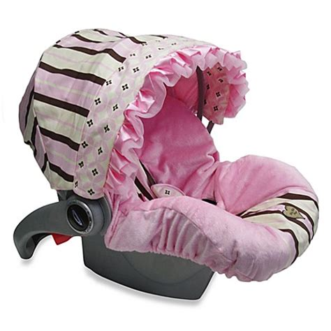 infant car bed buy baby bella maya infant car seat cover in pixie stix from bed bath beyond