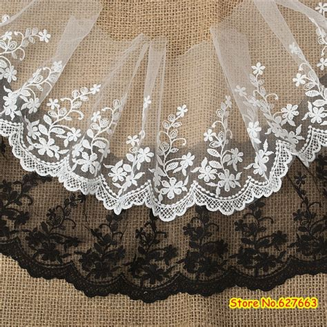 Renda Bordir aliexpress buy white lace trim 15cm wide