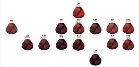 majirel haircolor treatment by l oreal professionnel shades guide loreal hair color shade chart