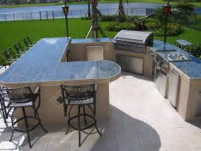 Largest custom outdoor kitchen with built in dcs grill and accessories