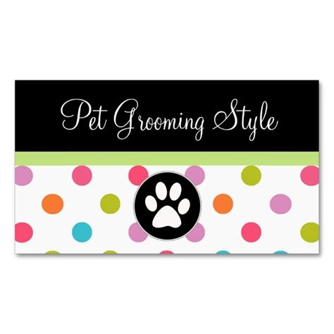 pet business cards templates top 25 ideas about animal pet care business card templates
