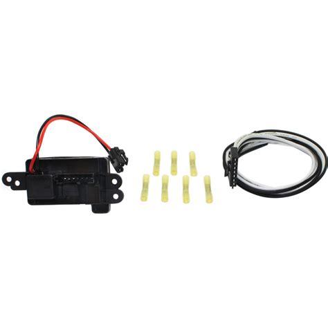 suburban blower motor resistor new blower motor resistor chevy yukon suburban avalanche silverado 1500 ebay