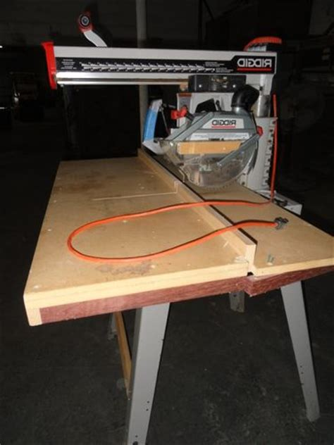 Radial Arm Saw Vs Table Saw by 2 Radial Arm Saws For Sale By Dustpipe Lumberjocks
