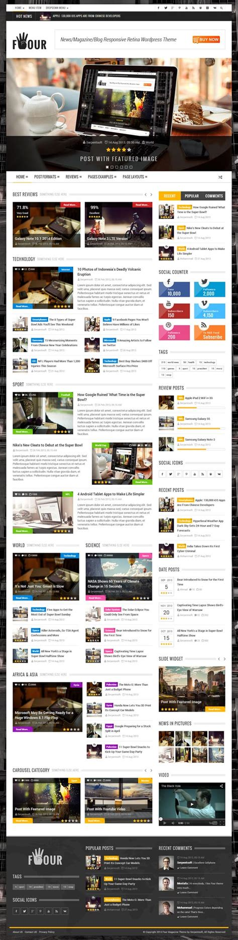 html5 and css3 responsive templates with amazing ux