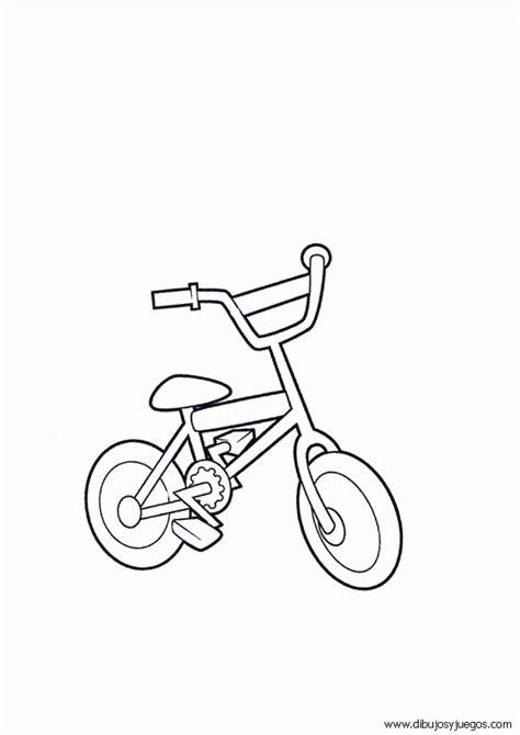 imagenes de bicicletas faciles para dibujar dibujo de bicicletas para colorear 001 dibujos y juegos