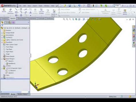 two flat pattern solutions to one problem in solidworks two flat pattern solutions to one problem in solidworks