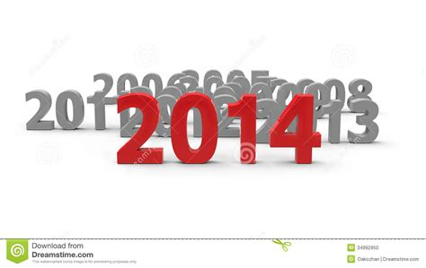new year represents 2014 come stock photo image 34992950
