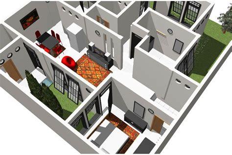 desain rumah 8 x 12 rumah sederhana