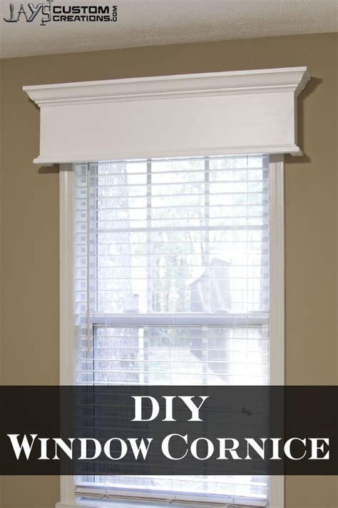 idea cornice easy diy window cornice jays custom creations