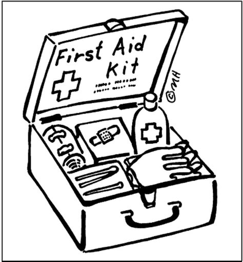 coloring kit aid coloring page