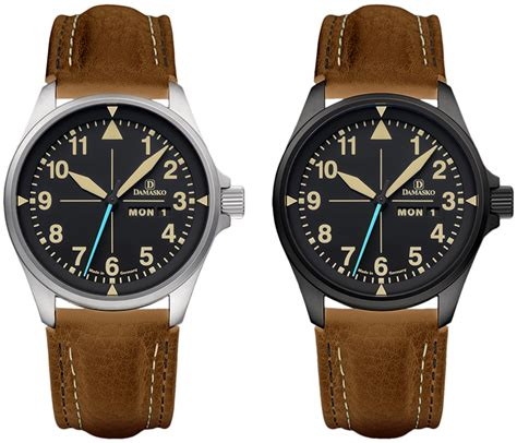 the new timeless damasko db series watches ablogtowatch