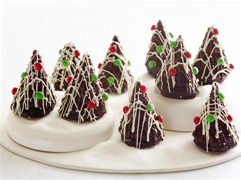 moist chocolate cake xmas trees recipe food network