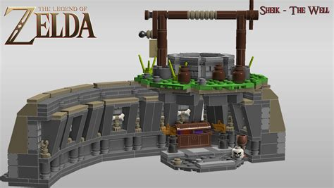 Lego Loz Toileting Brown continuum the legend of lego project