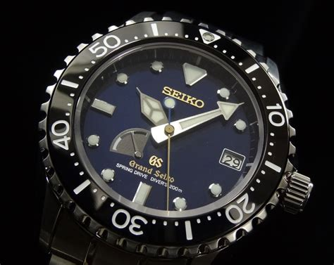 automatic springs grand grand seiko drive diver limited edition sbga071
