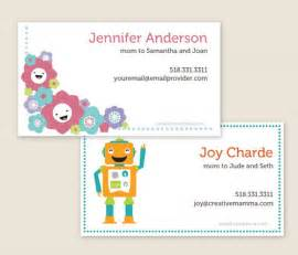 printable business cards free creative mamma 187 free printable customizable play date cards