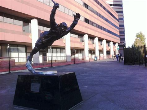 Td Garden Statue by Statue Honoring Bobby Orr S Stanley Cup Winning