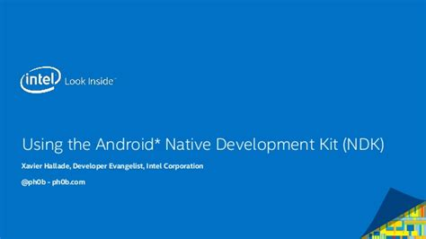 android app development kit using the android development kit ndk