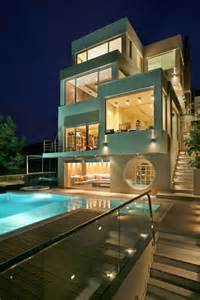 Designer Luxury Homes by Modern Villa Greece Most Beautiful Houses In The World