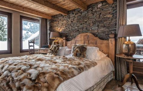 deco chambre style chalet d 233 co chambre chalet montagne
