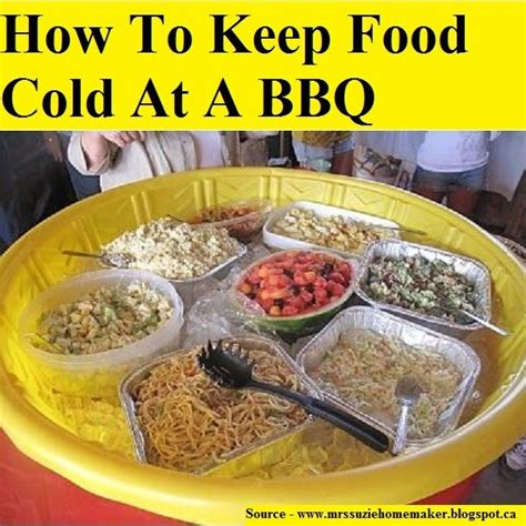 Keep Your Cing Food Cool by How To Keep Food Cold At A Bbq For More Creative Tips