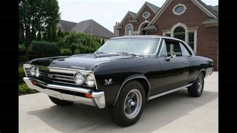 cheap muscle muscle cars for sale cheap 1967 chevelle ss burn out