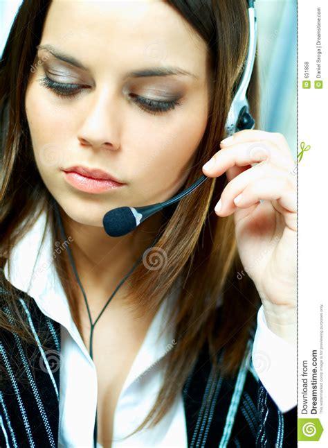 call center di commercio agente della call center fotografia stock immagine di