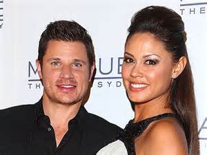 Minnillo And Nick Lachey Hit The Pool by An Expectant Minnillo Hits The Club In Five Inch