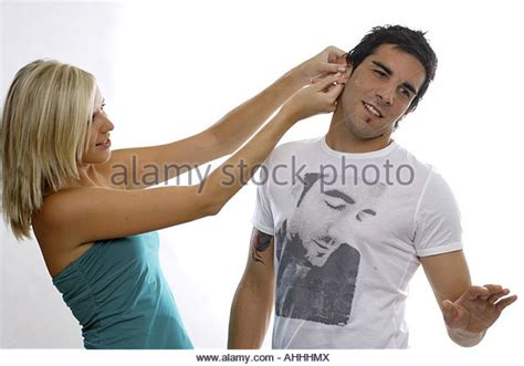 pulling ear stock photos pulling ear stock images alamy