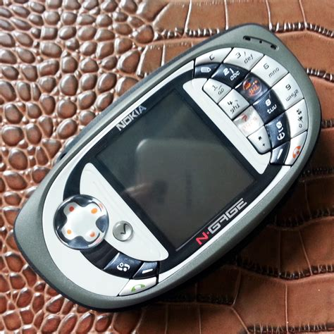 original nokia n gage qd mobile cell phone russian language one year warranty in mobile phones