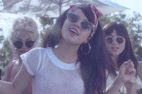 You Light Me Up Inside Like The 4th Of July by Becky G Captures Summer In New Shower