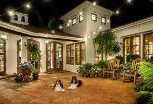 Courtyard design ideas patio mediterranean with old world old world