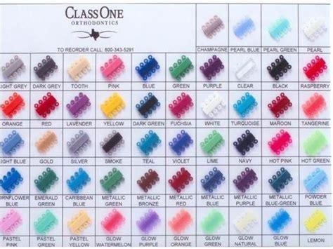color bands best 25 braces colors ideas on