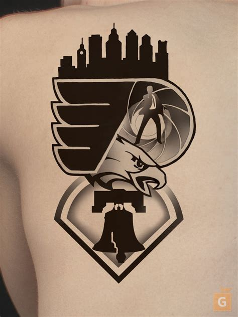 philly skyline tattoo philadelphia and by proto jekt on deviantart