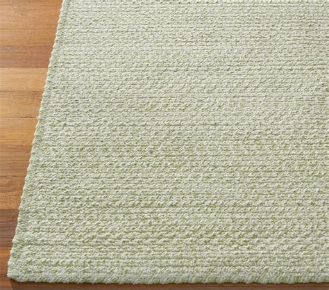 chenille braided rugs green evan chenille braided rug swatch pottery barn
