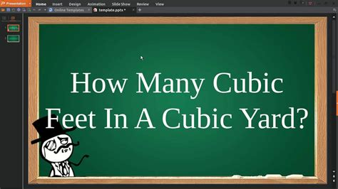 how many cubic in a cubic yard