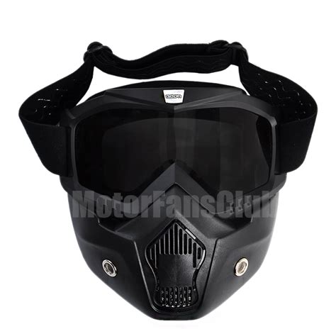 motocross helmet with face shield new arrival detachable modular face mask shield goggles