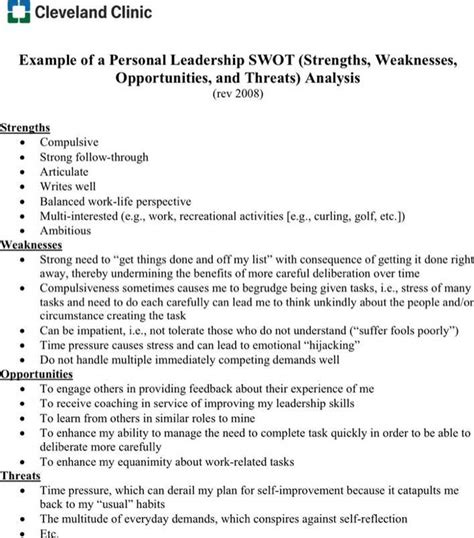personal swot analysis essay research paper service erassignmenthuev